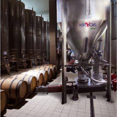 Kryos, refrigerazione del pigiato con CO2 liquida